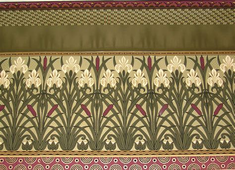 Arts And Crafts Wall Paper - arts crafts reproduction wallpaper luccabound