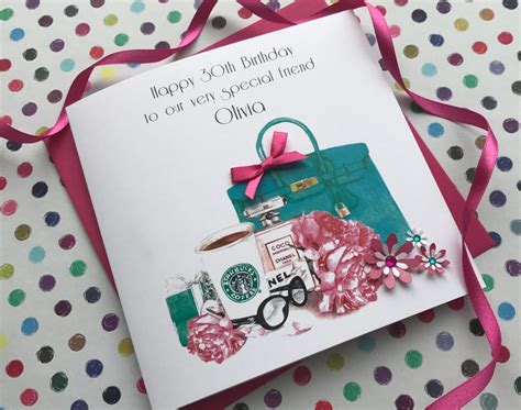 Handmade Birthday Cards Uk - handmade personalised birthday cards by pinkandposh co