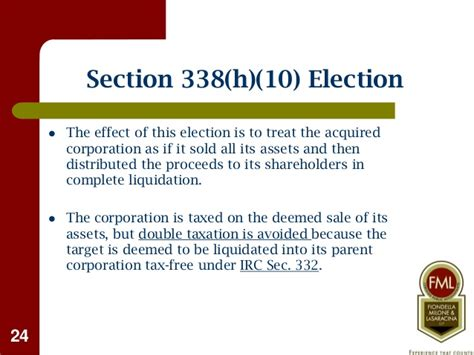 irc section 338 buying selling a business tax considerations