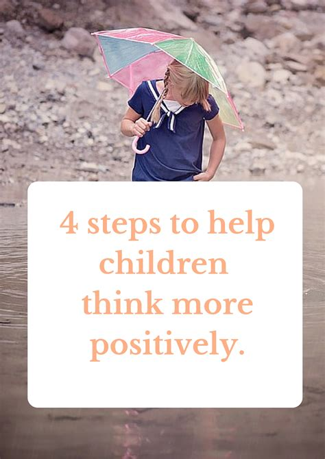4 steps to get your kids to help clean the bathroom 4 steps to help children think more positively