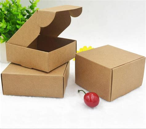 Craft Paper Packaging - 2017 kraft paper gift packaging box small craft