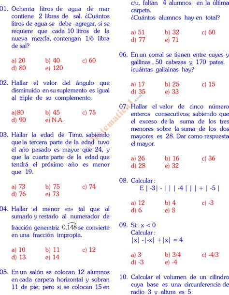 problemas de matematicas para cuarto de primaria gratis problemas matematicos para quinto grado primaria gratis