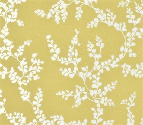 yellow floral wallpaper for walls shadow fern floral wallpaper metallic silver shadow fern