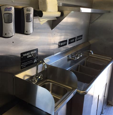 3 compartment sink for food truck built food truck for sale ta bay food trucks