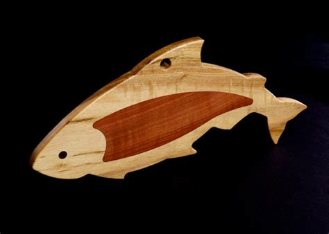 Unique Wood Cutting Boards by New Unique Quot Salmon Quot Serving Cutting Board With Special