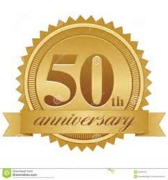 Anniversary ribbon vector 50th anniversary seal eps 15995404