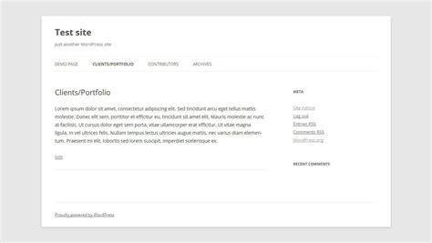 wordpress archive layout les templates de pages wordpress comment 231 a marche