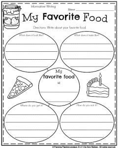 my favorite food common core aligned opinion writing common