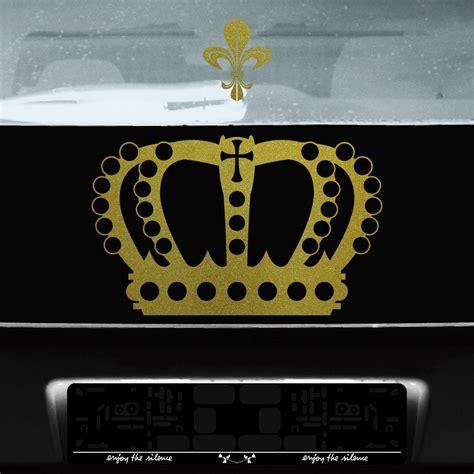 Fenster Aufkleber Gold by Krone 38cm Lilie Gold K 246 Nig Aufkleber Auto Fenster T 252 R