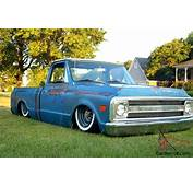 1970 C10 Awesome Blue Patina Custom Rear Frame And Air