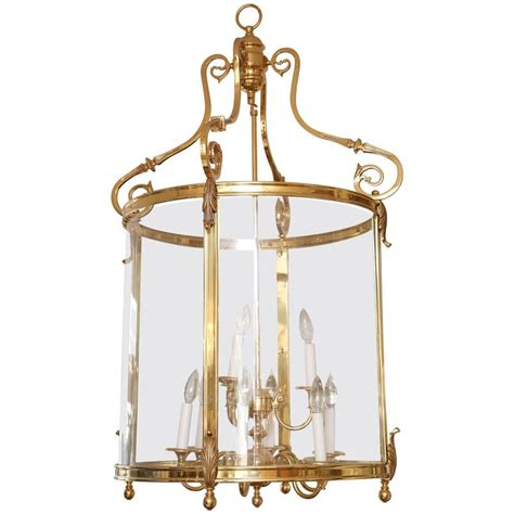 Solid Brass Chandelier Superb Solid Brass Chandelier Lantern Style At 1stdibs