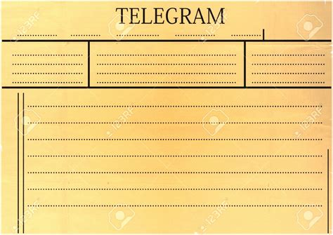 telegram template fantastic western union telegram template gallery