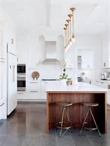 la cuisine blanche et bois en 102 photos inspirantes