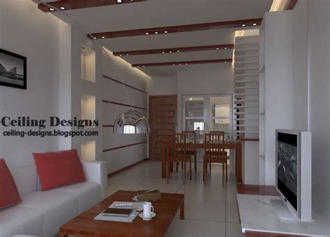 Living Room Ceiling by Ceiling Designs
