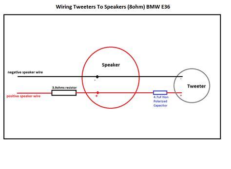 adding a resistor in series with a speaker need help adding tweeters to speakers diyaudio