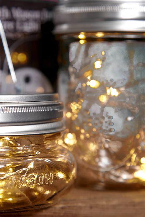 Mason Jar Lights Fairy Lights Battery Op Warm White Fits Lights Jar
