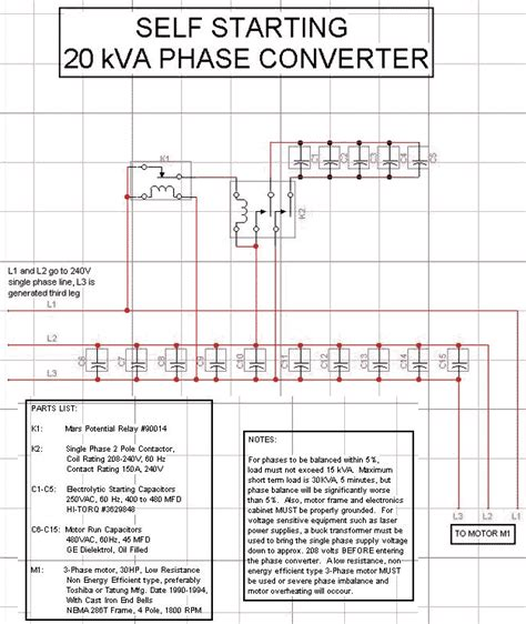 how to construct a phase diagram how to build rotary phase converter wiring diagram 50