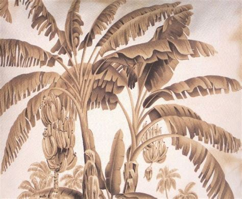 palm tree upholstery fabric tropical hawaiian 100 cotton barkcloth upholstery fabric