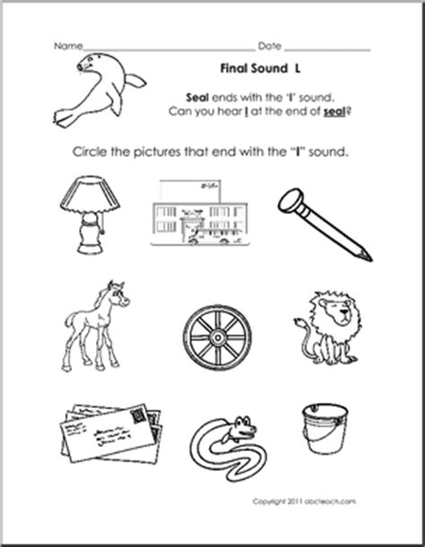 L Sound Worksheets by 11 Best Images Of L Sound Worksheets Letter L Worksheets