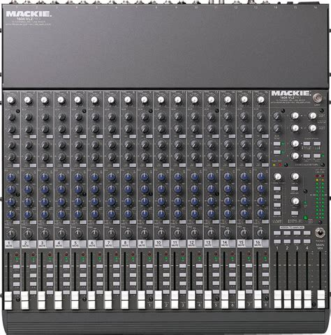 Mixer Mackie 6 Channel mackie 1604 vlz pro 16 channel mixer zzounds