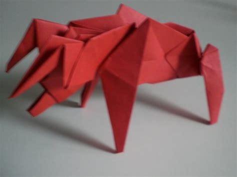 Bull Origami - bull origami