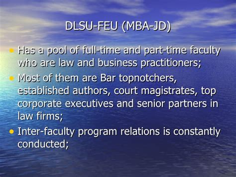 Sju Jd Mba Bar Eligibility by Blue Strategy Report