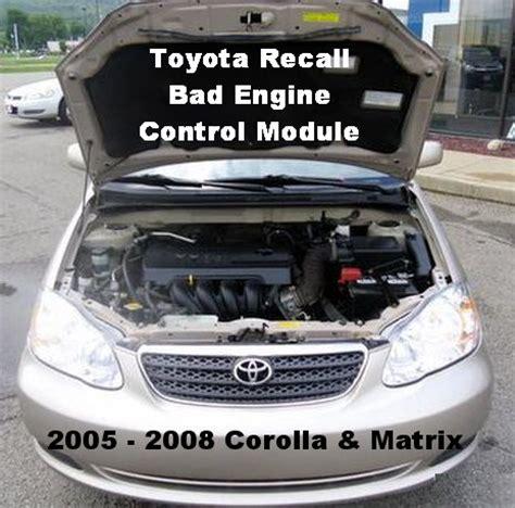 Toyota Recall Lookup Toyota Recall Information Recalls And Problems Autos Weblog
