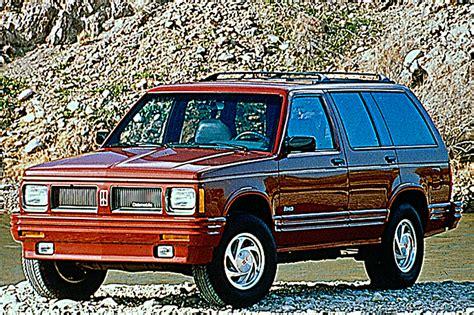 how petrol cars work 1993 oldsmobile bravada seat position control 1991 94 oldsmobile bravada consumer guide auto