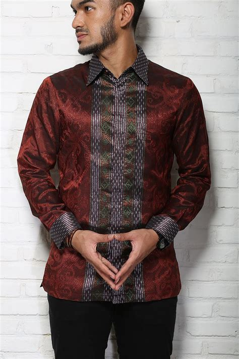 Batik Pria Modern 2 negarawan tenun batik pria modern no more pak rt
