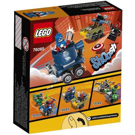 Lego Mighty Micros Captain America Vs Skull 76065 1 lego dc vs marvel mighty micros captain america vs skull 76065 toys zavvi