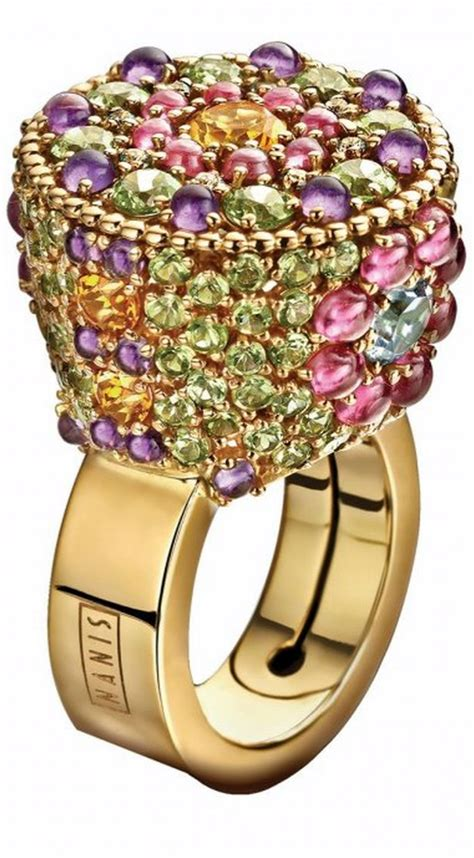 jewelry daily daily jeweled ring by nanis haute tr