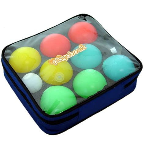 lighted bocce ball set lighted glow led bocce ball set 83mm