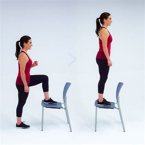 Chair Step Ups by Circuit Day Hydroxycut