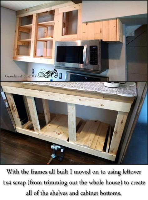 how to build a kitchen how to diy build your own white country kitchen cabinets