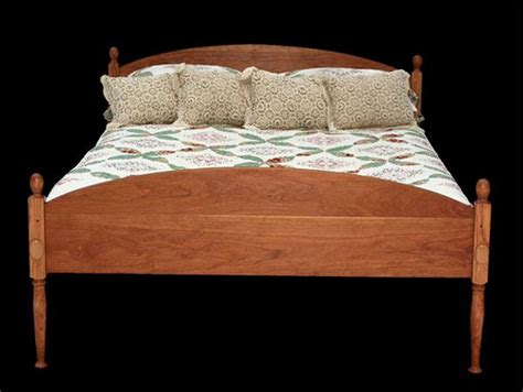 Bed Shaking by Custom Handcrafted Solid Wood Shaker Bed Made In Vermont