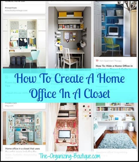 how to make a house a home home office in a closet office organization ideas