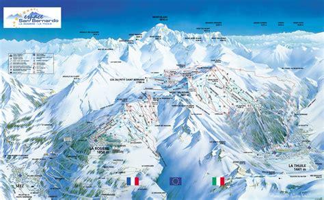 station domaine skiable La Rosière location appartement et chalet ALP Association des