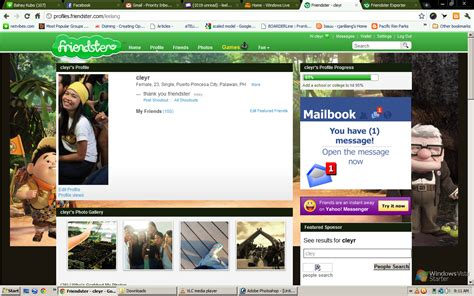 Friendster Search Friendster