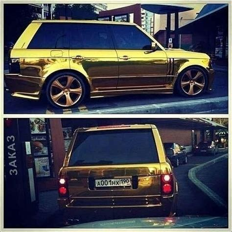 gold chrome range rover yamaha r6 range rover vogue gold chrome by artautostudio