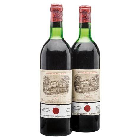 chateau lafite rothschild best vintage ch 226 teau lafite rothschild vintage 1977 pauillac levels t