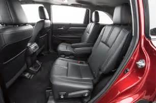 Toyota Highlander Interior Photos 2017 Toyota Highlander Se Awd Test Review