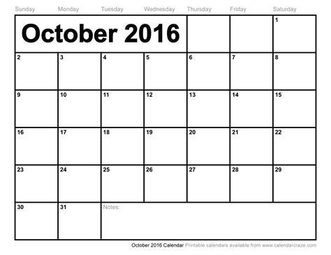 free october calendar template 8 best images of printable calendar october 2015 march
