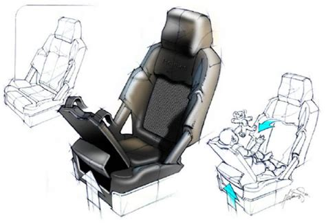 Car Baby Seat concepts by Larry Holmes at Coroflot.com