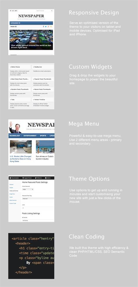 newspaper theme junkie wordpress news and magazine theme themes templates