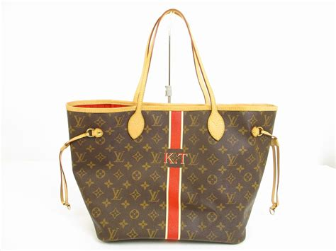 louis vuitton mon monogram leather brownred toteshoppers
