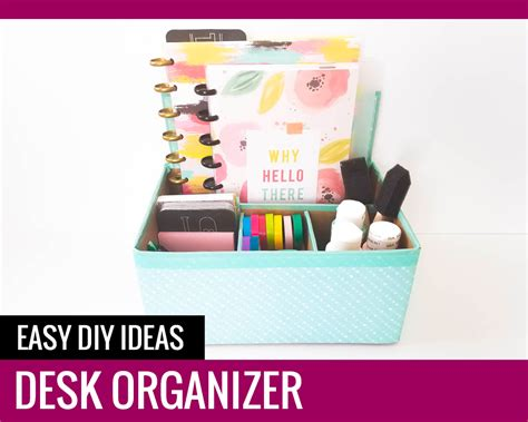 diy desk organizer ideas desk organizer easy diy ideas paper and landscapes
