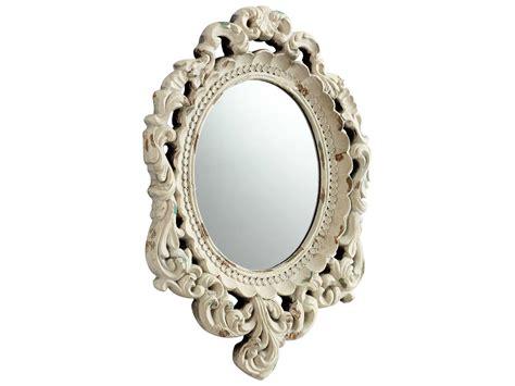 14 X 20 Mirror by Cyan Design Illusions 14 X 20 Antique White Wall Mirror