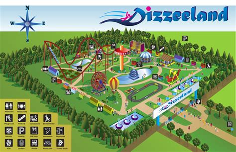 theme park maps teach map skills using amusement park map read the map
