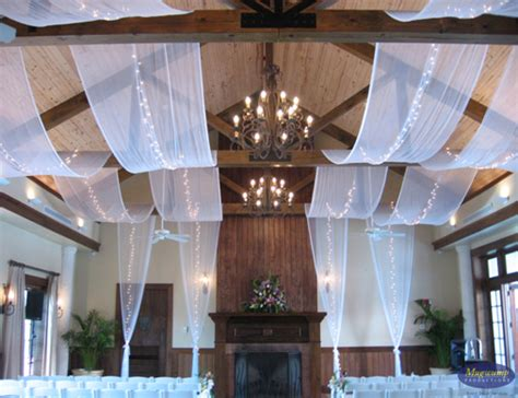 eventful disclosure ceiling fabric treatments
