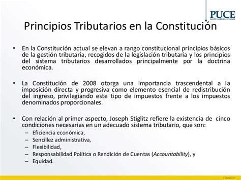 principios constitucionales del derecho tributario en principios del derecho tributario ecuatoriano